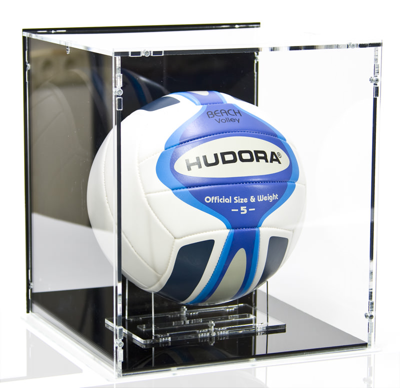 The Volleyball Display Case with Volleyball Stand